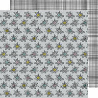 American Crafts - Shine On Collection - 12 x 12 Double Sided Paper - Breath