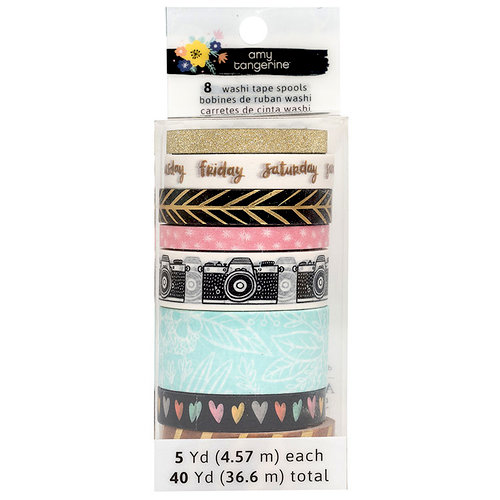 American Crafts - Shine On Collection - Washi Set