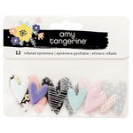 American Crafts - Shine On Collection - Mini Inflated Ephemera