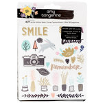 American Crafts - Shine On Collection - Sticker Book - Holographic Foil