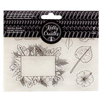 Kelly Creates - Clear Acrylic Stamps - Traceable - Tropicals