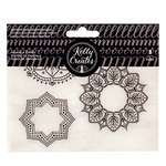 Kelly Creates - Clear Acrylic Stamps - Traceable - Mandala