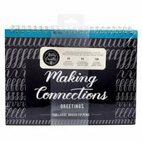 Kelly Creates - Making Connections Workbook - Large Brush - Greetings
