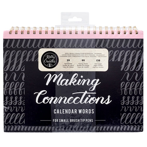 Kelly Creates - Making Connections Workbook - Small Brush - Calendar Words