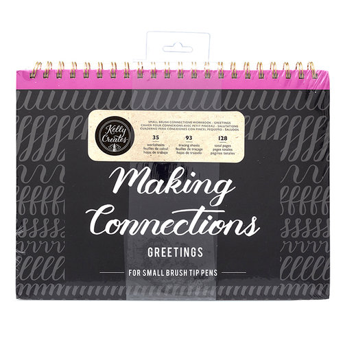 Kelly Creates - Making Connections Workbook - Small Brush - Greetings