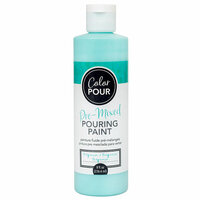 American Crafts - Color Pour Collection - Pre-Mixed Pouring Paint - Turquoise