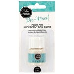 American Crafts - Color Pour Collection - Pre-Mixed Pour Art Foil Paint - Iridescent