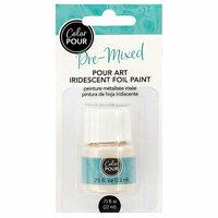 American Crafts - Color Pour Collection - Pre-Mixed Pour Art Foil Paint - Iridescent