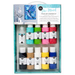American Crafts - Color Pour Collection - Pre-Mixed Pour Art Starter Kit