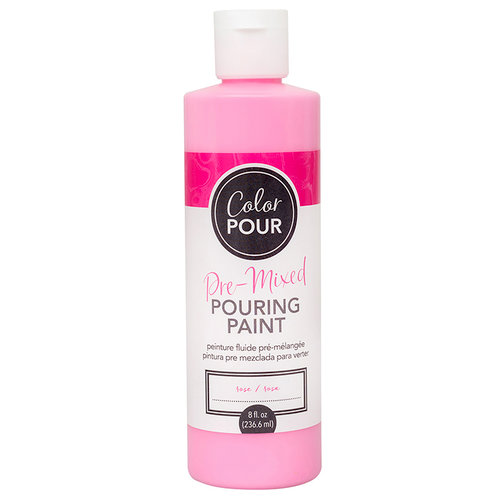 American Crafts - Color Pour Collection - Pre-Mixed Pouring Paint - Rose