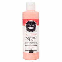 American Crafts - Color Pour Collection - Pre-Mixed Pouring Paint - Coral