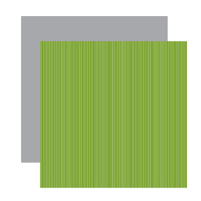 American Crafts - Merrymint Collection - Christmas - 12 x 12 Double Sided Paper - Thin Mint, CLEARANCE