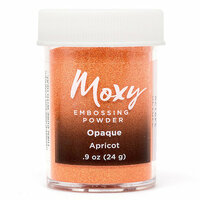 American Crafts - Moxy Embossing Powder - Opaque - Apricot - .9 Ounce