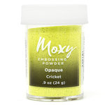 American Crafts - Moxy Embossing Powder - Opaque - Cricket - .9 Ounce