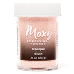 American Crafts - Moxy Embossing Powder - Opaque - Blush - 1 Ounce