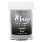 American Crafts - Moxy Embossing Powder - Metallic - Silver - 1 Ounce