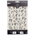 Kelly Creates - Clear Acrylic Stamps - Traceable - Bouncy - Alphabet