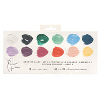 American Crafts - Paper Fashion Collection - Gouache Paints - Water Soluble - Set 2