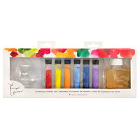 American Crafts - Paper Fashion Collection - Powdered Paints Pigment Set