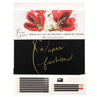 American Crafts - Paper Fashion Collection - Drawing Pencil Kit