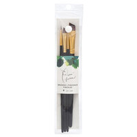 American Crafts - Paper Fashion Collection - Paint Brush Set 2 - Variety