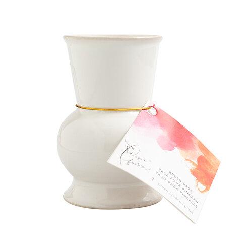 American Crafts - Paper Fashion Collection - Brush Vase - Ceramic