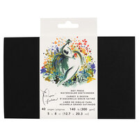 American Crafts - Paper Fashion Collection - Watercolor Sketchbook - 5 x 8