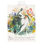 American Crafts - Paper Fashion Collection - Watercolor Paper Pad - 9 x 12 - 12 Sheets