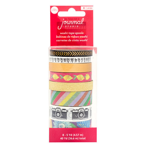 American Crafts - Journal Studio Collection - Amy Tan - Washi Tape - Shine