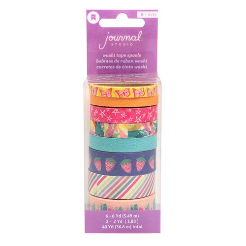 American Crafts Colorful Washi Tape Set