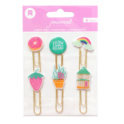 American Crafts - Journal Studio Collection - Paper Clips - Dreams