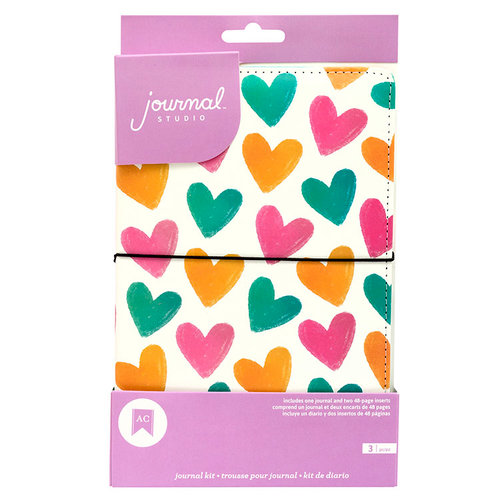 American Crafts - Journal Studio Collection - Journal Kit - Heart