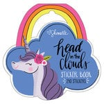 American Crafts - Head in The Clouds Collection - Shaped Sticker Book