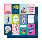 American Crafts - Head in The Clouds Collection - 12 x 12 Double Sided Paper - Friends Are Forever