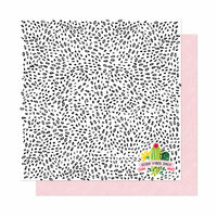 American Crafts - New Day Collection - 12 x 12 Double Sided Paper - Good Vibes