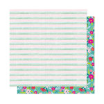 American Crafts - New Day Collection - 12 x 12 Double Sided Paper - Stay Humble