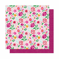 American Crafts - New Day Collection - 12 x 12 Double Sided Paper - Be You