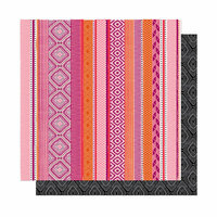 American Crafts - New Day Collection - 12 x 12 Double Sided Paper - Big Love