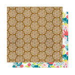 American Crafts - New Day Collection - 12 x 12 Double Sided Paper - Namaste