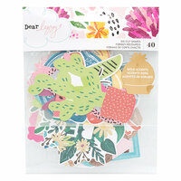 American Crafts - New Day Collection - Ephemera with Foil Accents