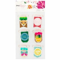 American Crafts - New Day Collection - Layered Clips