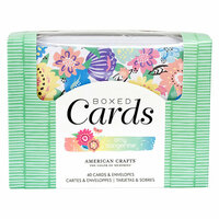 American Crafts - Sunshine and Good Times Collection - Boxed Card Set