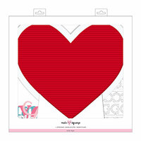Crate Paper - Main Squeeze Collection - Letter Board - Heart