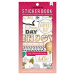 American Crafts - Cardmaking Sticker Book with Foil Accents - Just A Little Note