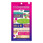 American Crafts - Cardmaking Sticker Book with Foil Accents - Wishes for You