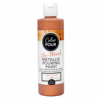 American Crafts - Color Pour Collection - Pre-Mixed Metallic Pouring Paint - Copper