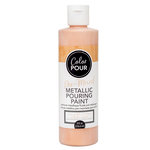 American Crafts - Color Pour Collection - Pre-Mixed Metallic Pouring Paint - Rose Gold