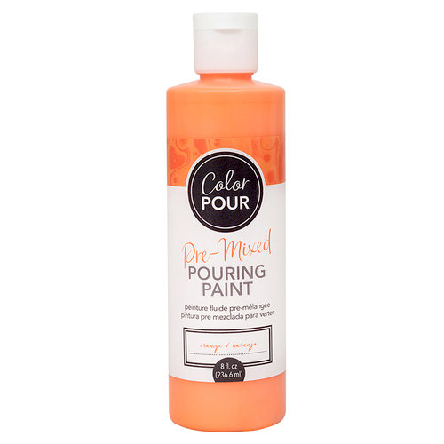 American Crafts - Color Pour Collection - Pre-Mixed Pouring Paint - Orange