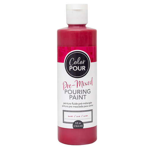 American Crafts - Color Pour Collection - Pre-Mixed Pouring Paint - Wine