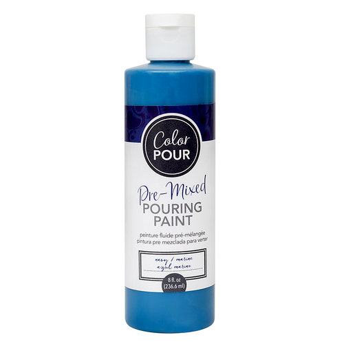 American Crafts - Color Pour Collection - Pre-Mixed Pouring Paint - Navy